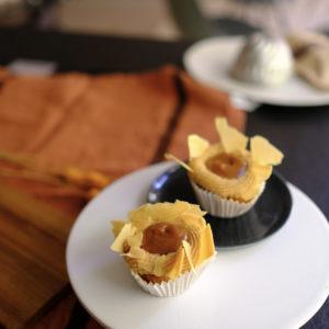 Cupcake caramel & spéculoos