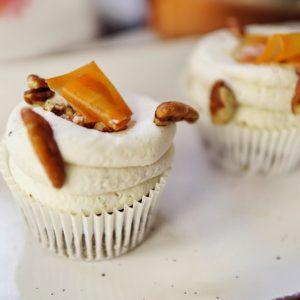 Cupcake carotte & noix de pécan