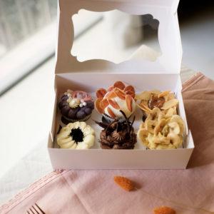 Box Cupcakes 6 pièces
