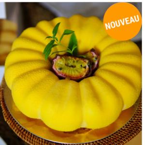 Entremet Passion, Verveine citronnelle & Pécan